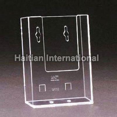 1/3 A4 WALL MOUNTED Acrylic Leaflet Holder