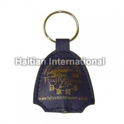 Led Leather Keyring with Customer Logo
