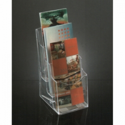 3 Tiers Molded Brochure Holder