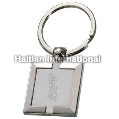 Metal Keyring with Customer Logo