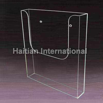 Wall Mounted Acrylic Brochure Holder