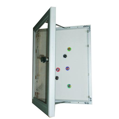 Lockable Magnetic Notice Board