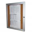 Lockable Notice Board Cork