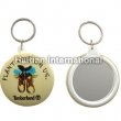 Keyring with Mirror