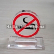 Acrylic Non-smoking Sign
